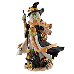 Fitz and Floyd Halloween Harvest Witch Figurine