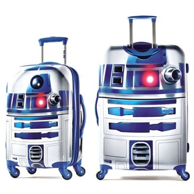 Star Wars 174 R2 D2 Upright Luggage Collection Bed Bath