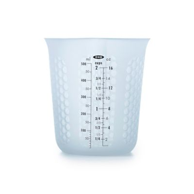 Oxo Squeeze And Pour Silicone Measuring Cup Bed Bath And