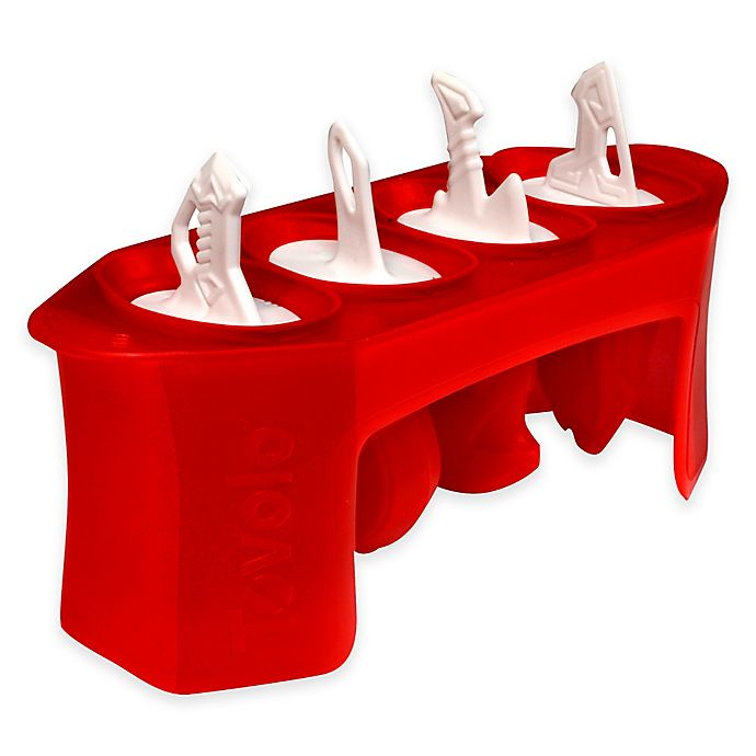 Alternate image 1 for Tovolo® Sword Pop Molds in Red
