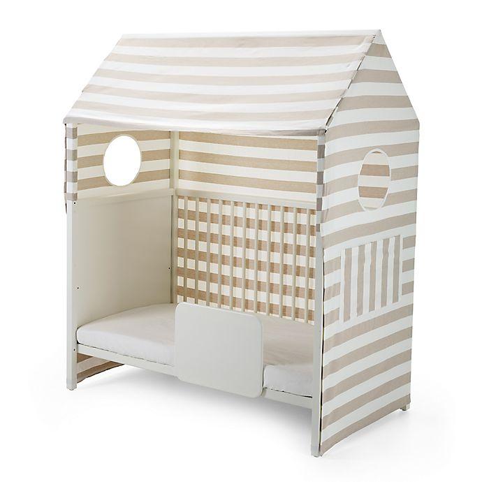 Alternate image 1 for Stokke® Home™ Bed Tent in Beige Stripe