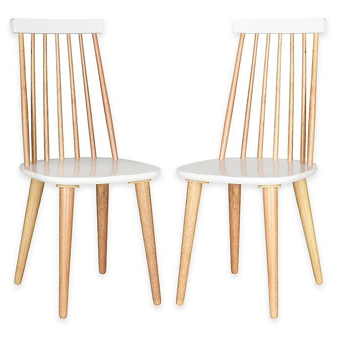 Strange Safavieh Burris Side Chairs Set Of 2 Bed Bath Beyond Unemploymentrelief Wooden Chair Designs For Living Room Unemploymentrelieforg