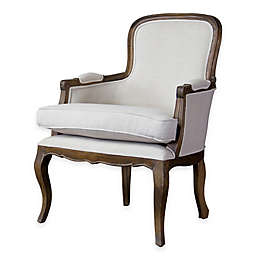 Baxton Studio Napoleon Traditional French Accent Chair