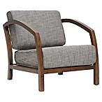 Baxton Studio Velda Modern Wood Accent Chair in Brown