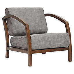 Baxton Studio Velda Modern Wood Accent Chair in Brown