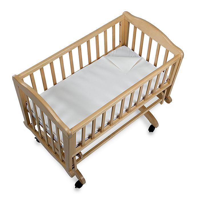 Bb Basics Flannel Waterproof Flat Portable Crib Pad Cover