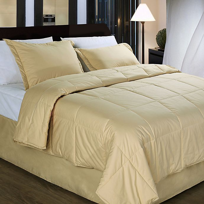Alternate image 1 for Cotton Dream Colors All Natural Cotton Filled Comforter