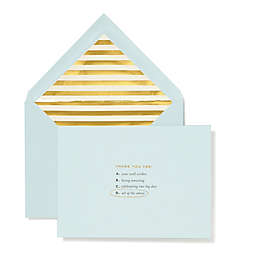 """kate spade new york """"All of the Above"""" Bridal Thank You Cards (Set of 10)"""