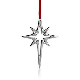 Nambe Star Christmas Ornament