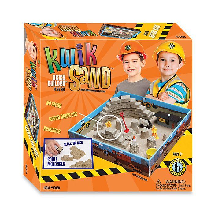 Alternate image 1 for Kwik Sand Brick Builder Play Set