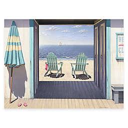 Courtside Market Beach Club 16-Inch x 20-Inch Gallery Canvas Wall Art