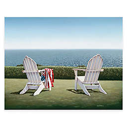 Courtside Market Spring House View 24-Inch x 36-Inch Gallery Canvas Wall Art