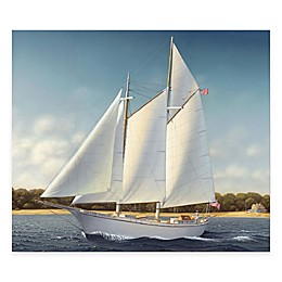 Courtside Market Lady Sterling 16-Inch x 20-Inch Gallery Canvas Wall Art