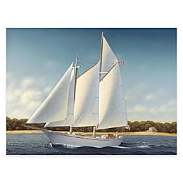 Courtside Market Lady Sterling 24-Inch x 36-Inch Gallery Canvas Wall Art