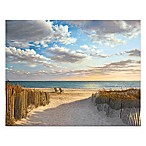 Courtside Market Sunset Beach 16-Inch x 20-Inch Gallery Canvas Wall Art