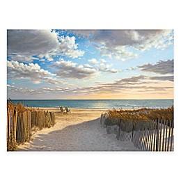 Courtside Market Sunset Beach 24-Inch x 36-Inch Gallery Canvas Wall Art