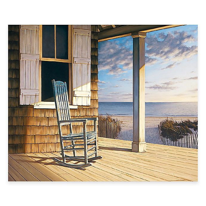 Alternate image 1 for Courtside Market Old Rocker 24-Inch x 36-Inch Gallery Canvas Wall Art