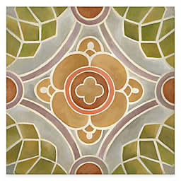 Courtside Market Tuscan Color Tile Block IV 16-Inch x 16-Inch Gallery Canvas Wall Art
