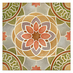 Courtside Market Tuscan Color Tile Block III 16-Inch x 16-Inch Gallery Canvas Wall Art
