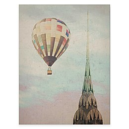 Courtside Market Chrysler Air Balloon Gallery Canvas Wall Art