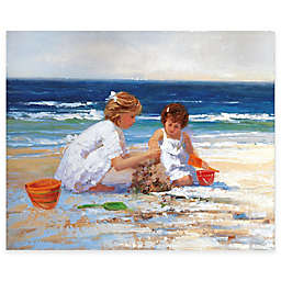 Courtside Market The Beach Gallery Canvas Wall Art