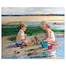 Courtside Market Sandcastles Gallery Canvas Wall Art