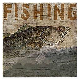 Courtside Market Fishing Lodge Gallery Canvas Wall Art