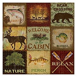 Courtside Market Cabin Life Gallery Canvas Wall Art
