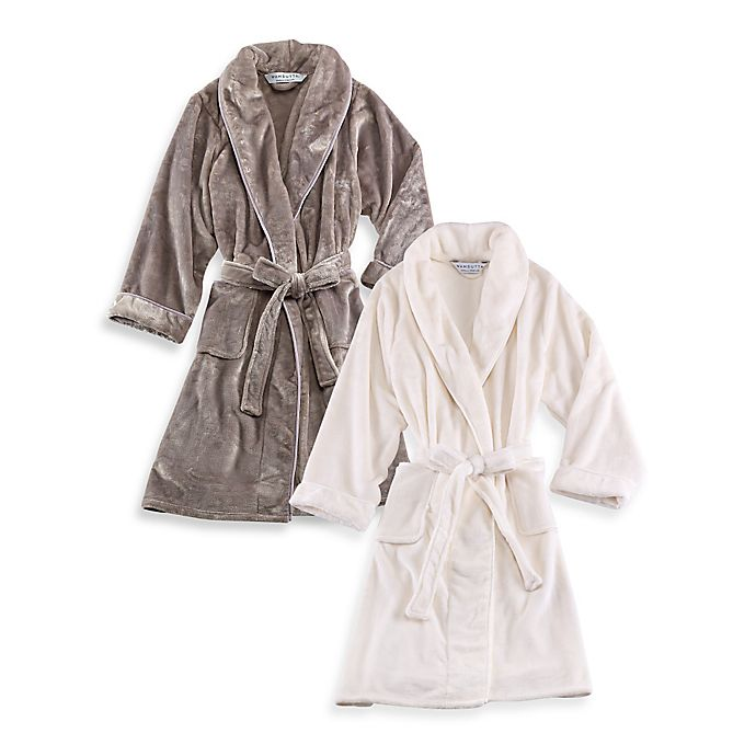 Alternate image 1 for Wamsutta® Plush Bathrobe