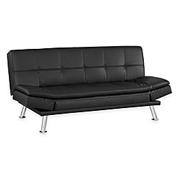 Serta® Niles Convertible Sofa in Black