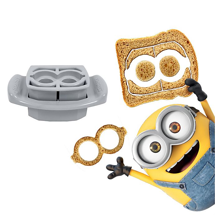 Alternate image 1 for FunBites® 2-Piece Minions Goggles Food Cutter Set