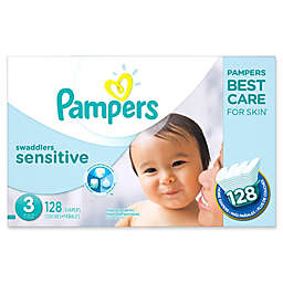 Pampers® Swaddlers Sensitive™ 128-Count Size 3 Economy Pack Diapers
