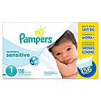 Pampers® Swaddlers Sensitive™ 156-Count Size 1 Economy Pack Diapers