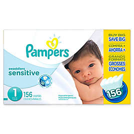 Pampers® Swaddlers Sensitive™ 156-Count Size 1 Economy Pack Diapers d78c7fa5c