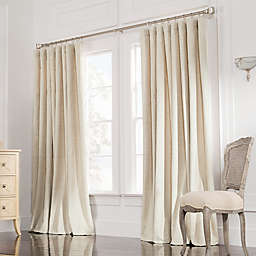 Valeron Estate 108-Inch  Rod Pocket Insulated Double-Width Curtain Panel in Sand (Single)