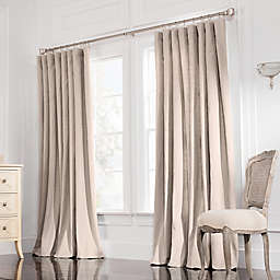 Valeron Estate 120-Inch  Rod Pocket Insulated Double-Width Window Curtain Panel in Taupe