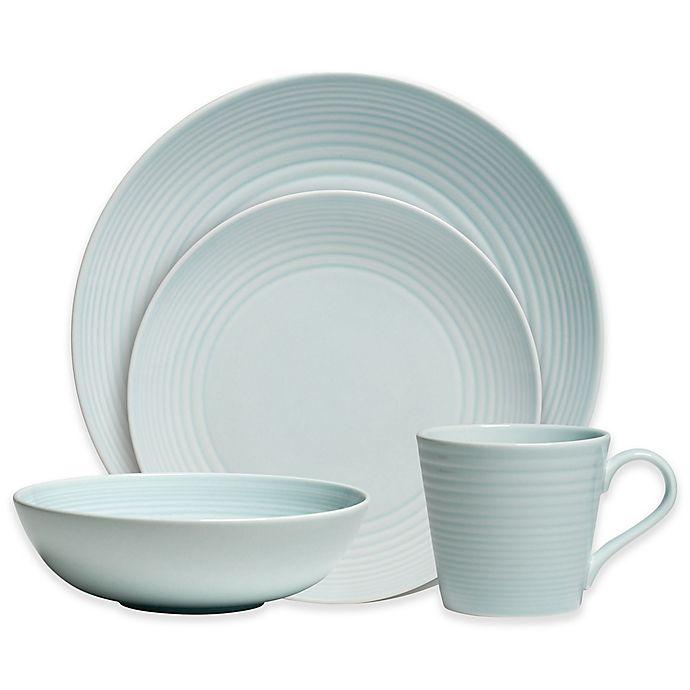 Alternate image 1 for Gordon Ramsay by Royal Doulton® Maze 16-Piece Dinnerware Set in Blue