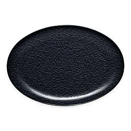Noritake® Black on Black Snow Oval Platter