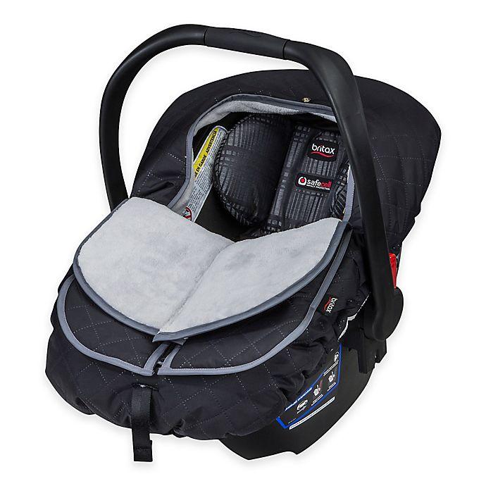 Terrific Britax B Warm Insulated Infant Car Seat Cover In Polar Machost Co Dining Chair Design Ideas Machostcouk