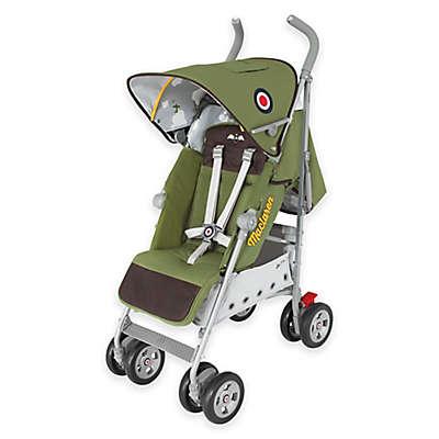 Maclaren® Techno XT Stroller Spitfire 50th Anniversary Edition in Green/Brown