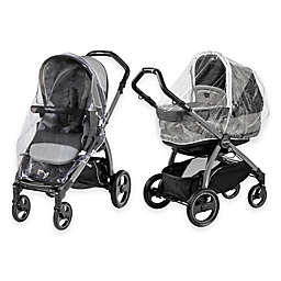 Peg Perego Book Pop-Up and Team Stroller Rain System in Clear