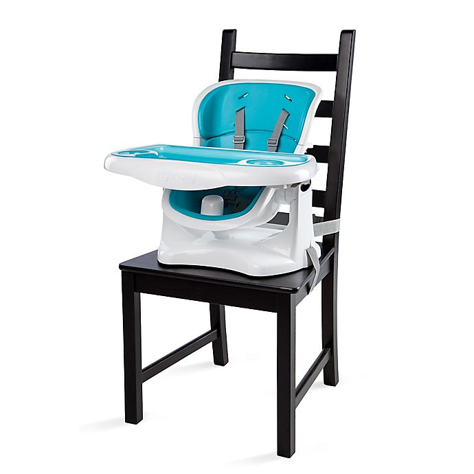 Alternate image 1 for Ingenuity™ SmartClean™ ChairMate™ Chair Top High Chair in Aqua