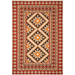 Safavieh Veranda Ronin 6'7 x 9'6 Indoor/Outdoor Area Rug in Red