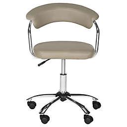 Safavieh Pier Swivel Desk Chair in Grey