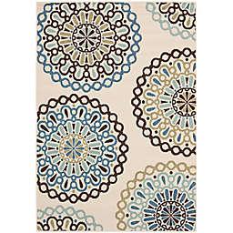 Safavieh Veranda Avery 6'7 x 9'6 Indoor/Outdoor Area Rug in Blue