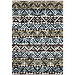 Safavieh Veranda Tucker 6'7 x 9'6 Indoor/Outdoor Area Rug in Blue