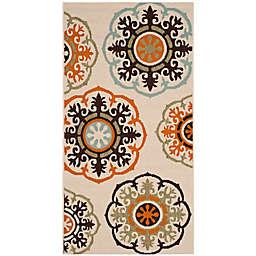 Safavieh Veranda Blaize 2'7 x 5' Indoor/Outdoor Area Rug in Cream