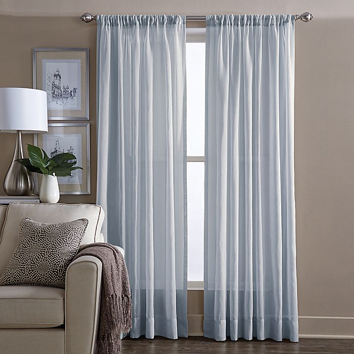 Alternate image 1 for Wamsutta® Sheer Window Curtain Panel