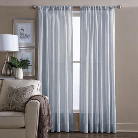 Wamsutta 174 Sheer Window Curtain Panel Bed Bath Amp Beyond