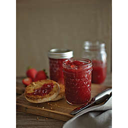 Ball® Crystal Quilted 12-Pack Glass Canning Jars
